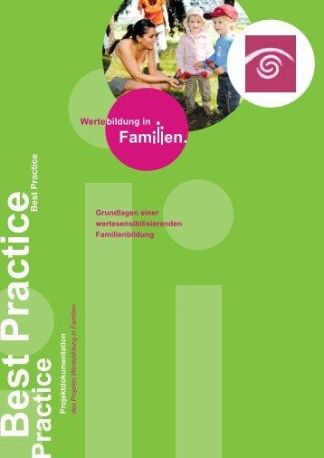 Rheinland-Pfalz - Wertebildung in Familien