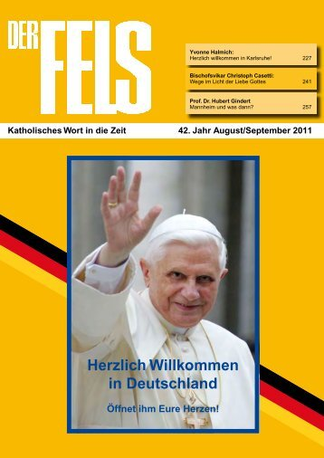 August-September - Der Fels