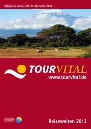 TOURVITAL Reisewelten 2012