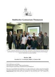 Städtisches Gymnasium Thomaeum