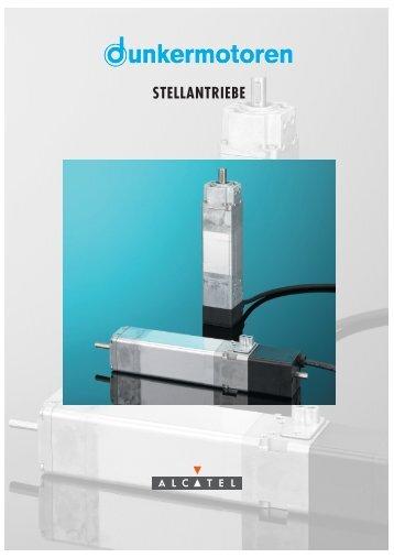 STELLANTRIEBE - Dunkermotoren