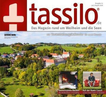 tassilo - das Magazin rund um Weilheim und die Seen - Ausgabe Juli/August 2020