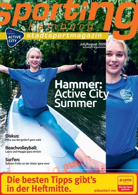 sporting hamburg JULI/AUGUST 2020