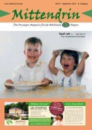 Ausgabe September 2012 - mittendrin-s5.de