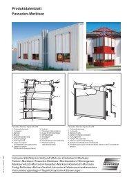 Warema Fassaden- markisen
