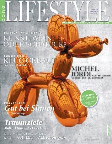 bonalifestyle-Ausgabe 1 | 2014