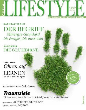bonalifestyle-Ausgabe 3 | 2014