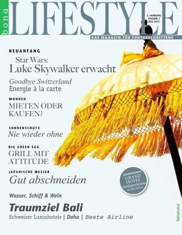 bonalifestyle-Ausgabe 2 | 2015