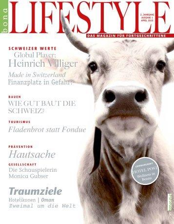 bonalifestyle-Ausgabe 1 | 2015