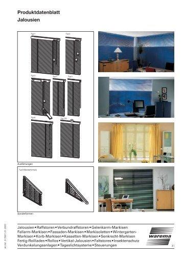 warema markisoletten. Black Bedroom Furniture Sets. Home Design Ideas