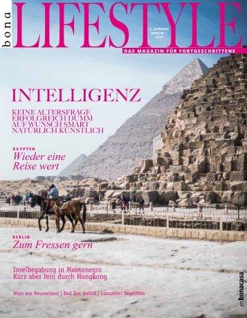 bonalifestyle-Ausgabe 1 | 2018