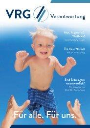 VRG Magazin 2020 2     Fokusthema: Verantwortung