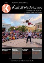 Kulturnachrichten für Darmstadt und Südhessen - 07/08 -2020