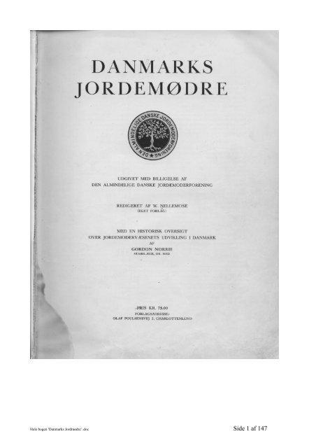 Danmarks Jordmødre - Bodil og Niels
