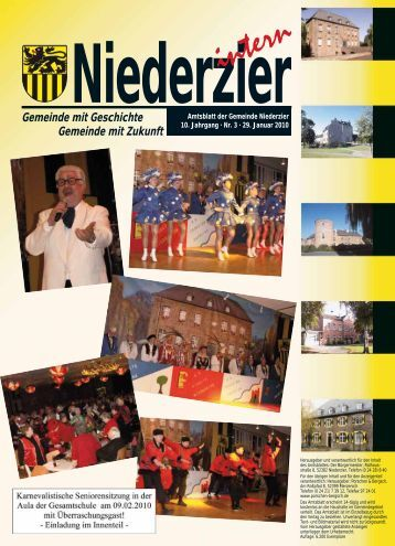 (0 24 65) 10 30 Telefax (0 24 65) - Gemeinde Niederzier