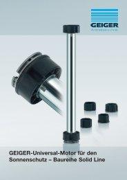 motor-baureihe solid line - Geiger Antriebstechnik