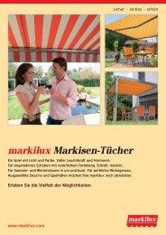 markilux Markisen-Tücher - Andre Atzert