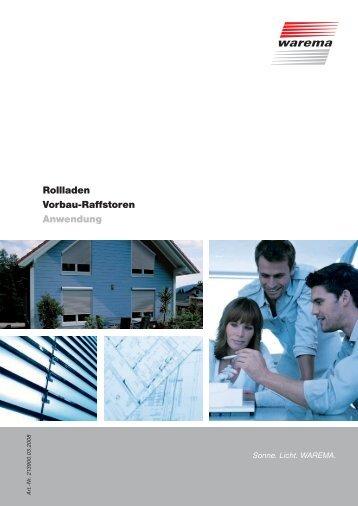 Rollladen Vorbau-Raffstoren Anwendung - Finkeisen Sonnenschutz