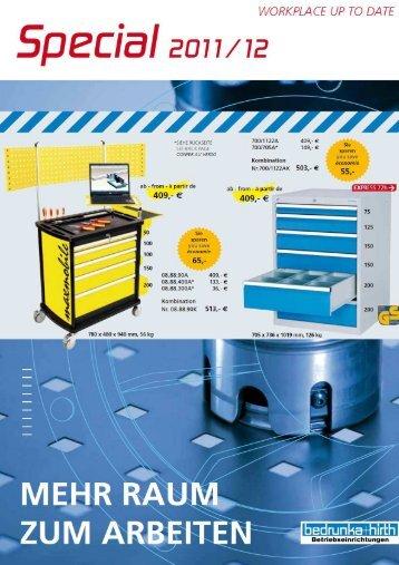Bedrunka & Hirth Special 2011 - g+p Werkzeuge