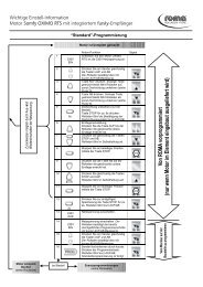 Wichtige Einstell-Information Motor Somfy OXIMO RTS mit ...