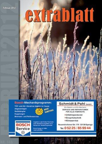 Ausgabe Februar 2012 - Extrablatt