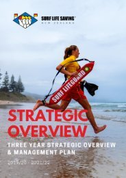 SLSNZ Strategy - 2019-20 Three year summary v2.1