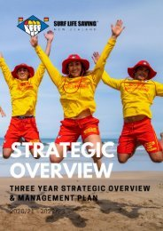 SLSNZ Strategy - 2020-21 Three year summary v3