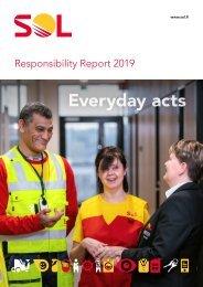 SOL Responsibility report 2019