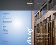 dialog 1/2010 - elero Antriebstechnik