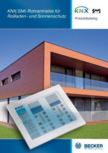 KNX/SMI-Rohrantriebe für Rollladen- und Sonnenschutz - BECKER ...
