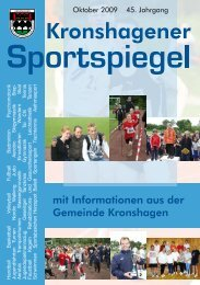 Oktober - TSV Kronshagen