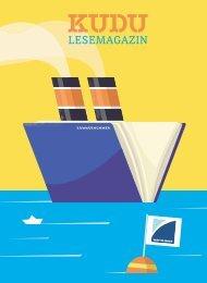 KUDU MAGAZIN: Das Lesemagazin Ihrer Lieblingsbuchhandlung – macht Lust auf Bücher und aufs Lesen! #30047