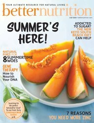 Better Nutrition July 2020