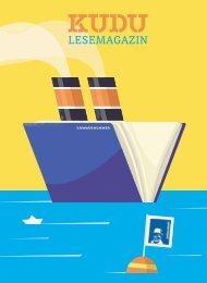 KUDU MAGAZIN: Das Lesemagazin Ihrer Lieblingsbuchhandlung – macht Lust auf Bücher und aufs Lesen! #32208