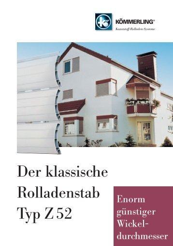 Der klassische Rolladenstab Typ Z 52 - Rolladen Müllers GmbH ...