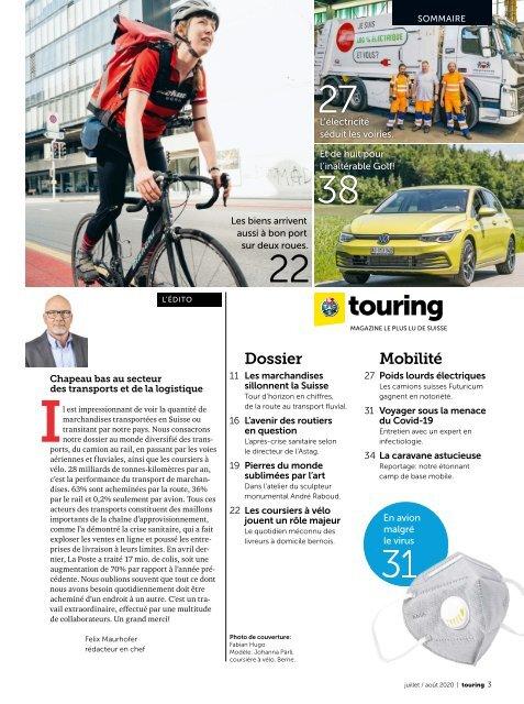 Touring Juillet/Août 2020