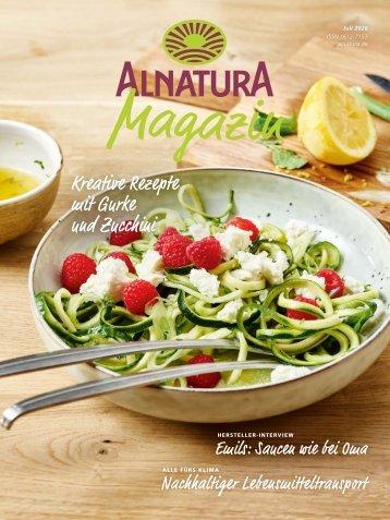 Alnatura Magazin Juli 2020