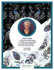 Ann Lauer's Peacock Flourish Lookbook
