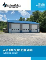 2449 Davisson Run Road Marketing Flyer
