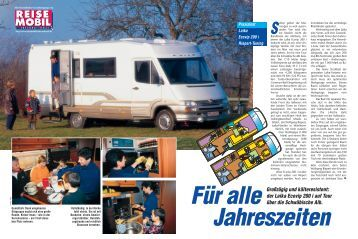 der Laika Ecovip 200 i auf Tour über die Schwäbische Alb.