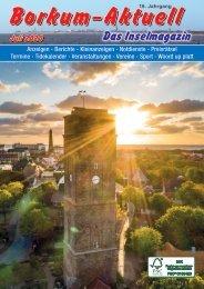 Juli 2020   Borkum-Aktuell - Das Inselmagazin