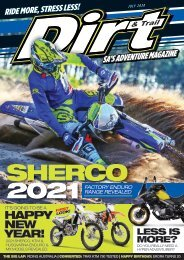 Dirt and Trail July 2020