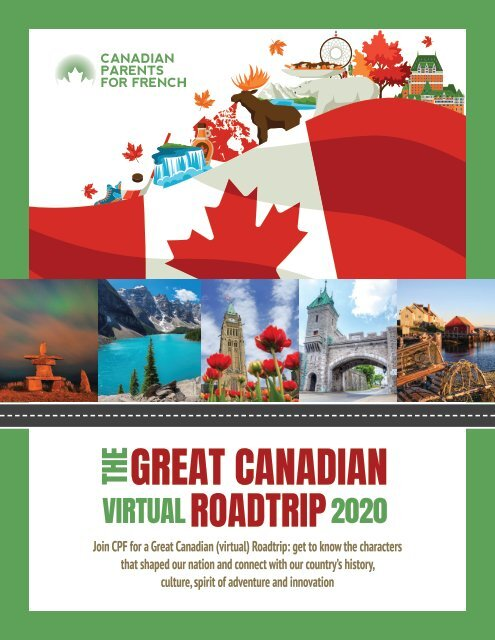 Canadian Parents for French: The Great Canadian Virtual Roadtrip 2020