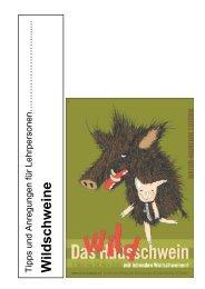 Wildschweine - Naturmuseum Luzern