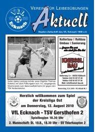 VfLAktuell_01_10/11 - VfL Ecknach