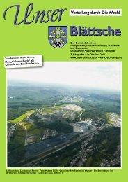 Unser Blättsche · Ausgabe 81 · Oktober 2011 - VDesign Agentur für ...