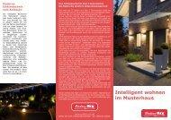 Intelligent wohnen im Musterhaus - Elektro - Rix