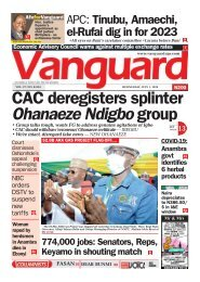 01072020 - CAC deregisters splinter Ohanaeze Ndigbo group