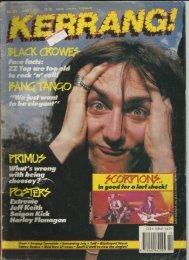 KERRANG #343 - 1 Junho 1991