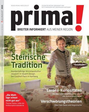 prima! Magazin - Ausgabe Juli / August 2020